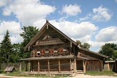 domowy stary drewniany Zdjęcie Stock