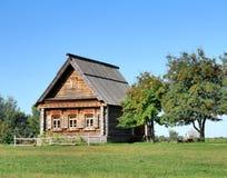 domowy stary drewniany Zdjęcie Royalty Free