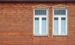 domowy stary nadokienny drewniany Zdjęcia Stock