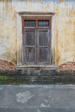 domowy stary okno fotografia stock