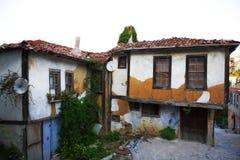 domowy stary ottoman Zdjęcie Royalty Free
