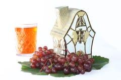 domowy szkło winograd Zdjęcie Royalty Free