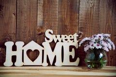 domowy szyldowy cukierki Zdjęcia Royalty Free