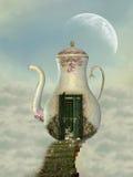 domowy teapot royalty ilustracja