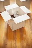 Domowy ulepszenie W pudełku Zdjęcie Royalty Free