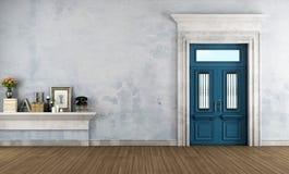 Domowy wejście w klasyka stylu royalty ilustracja