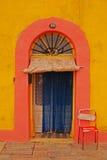 Domowy wejście przy Malta Zdjęcia Royalty Free