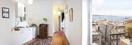 Domowy wewnętrzny projekt obrazy royalty free