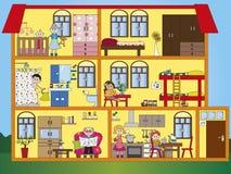 Domowy wnętrze Obrazy Stock