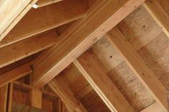 domowy wnętrza dachu widok Zdjęcie Stock
