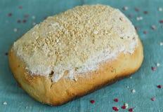 Domowy wypiekowy nerkodrzew dokrętki chleb Fotografia Royalty Free