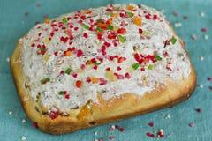 Domowy wypiekowy Wielkanocny chleb Obrazy Royalty Free