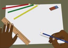 domowy zadanie Obraz Stock