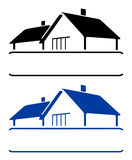 domowy znak royalty ilustracja