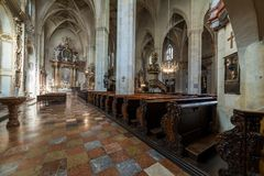 Dompfarramt em Graz, capital de Styria Fotografia de Stock