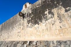 Domstol för match för Maya för Chichen Itza stencirkel Royaltyfri Fotografi