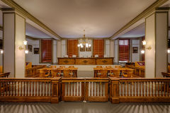 domstol suveräna florida Arkivfoto