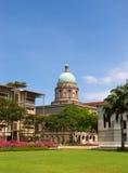 domstol suveräna gammala singapore Royaltyfri Fotografi