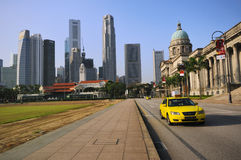 domstol suveräna gammala singapore Arkivfoton