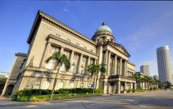 domstol suveräna gammala singapore Royaltyfri Bild