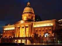 domstol suveräna gammala singapore Royaltyfria Bilder