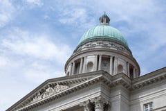 domstol suveräna singapore Arkivfoto