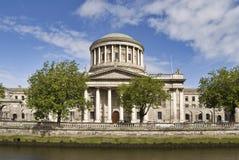 domstolar fyra Royaltyfri Fotografi