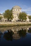domstolar fyra Arkivbild