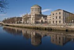domstolar fyra Fotografering för Bildbyråer