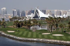 domstoldubai golf Royaltyfria Bilder