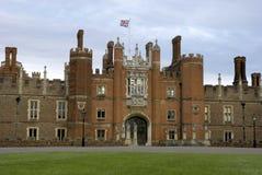 domstolhampton slott Royaltyfri Fotografi