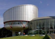 domstolmänsklig rättighet Arkivbild