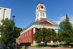 Domstolsbyggnad av Washington County, Montpelier, VT royaltyfria foton