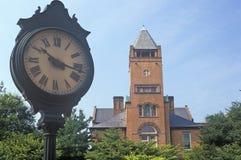 Domstolsbyggnad för röd tegelsten, Rockville, Maryland Arkivbilder