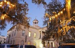 domstolsbyggnad i stadens centrum tallahassee Royaltyfri Foto