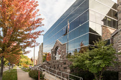 Domstolsbyggnad i traversstaden, Michigan Royaltyfria Foton