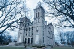 Domstolsbyggnad i Vincennes, Indiana Arkivbilder