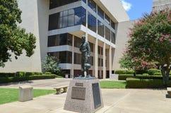 Domstolsbyggnad Longview, Texas Arkivbilder