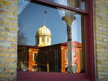 Domstolsbyggnad Woodstock, Illinois 1 royaltyfri fotografi