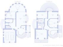 domu architektury systemu obrazy stock