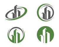 Domu i budynku logo Fotografia Royalty Free