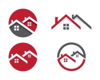 Domu i budynku logo Zdjęcie Stock