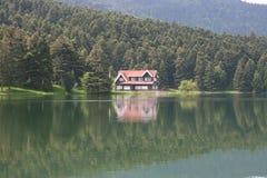 domu jezioro ii Zdjęcie Royalty Free