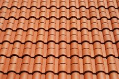 Domu kafelkowy dach Obraz Royalty Free