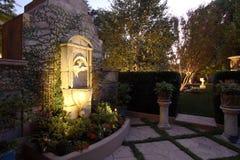 domu ogródka basen Zdjęcia Royalty Free