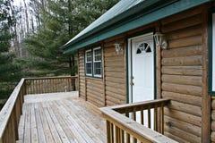 domu pokładowego log drewna obrazy royalty free