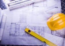 domu projektu planu Obrazy Stock