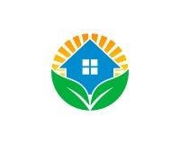Domu Wellness ikony loga projekta Domowy element ilustracji