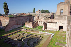 Domus Augustana ruins Stock Photography