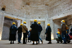 Domus Aurea interior Royalty Free Stock Image